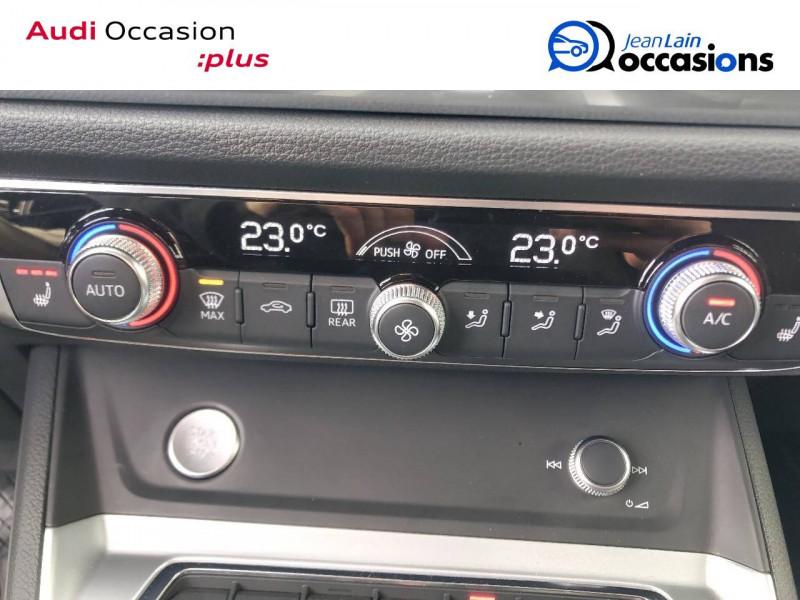 Audi Q3 Q3 35 TDI 150 ch S tronic 7 Design Luxe 5p Bleu occasion à Annemasse - photo n°14