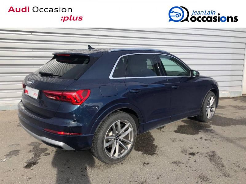 Audi Q3 Q3 35 TDI 150 ch S tronic 7 Design Luxe 5p Bleu occasion à Annemasse - photo n°5