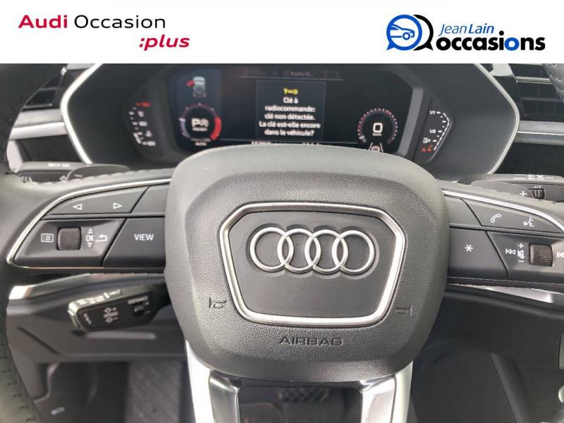 Audi Q3 Q3 35 TDI 150 ch S tronic 7 Design Luxe 5p Bleu occasion à Annemasse - photo n°12