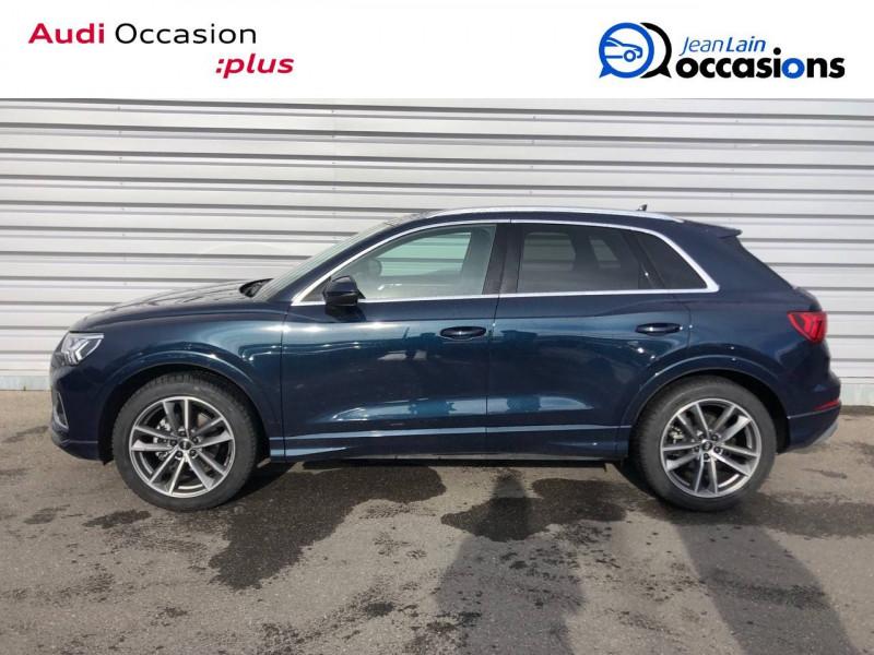 Audi Q3 Q3 35 TDI 150 ch S tronic 7 Design Luxe 5p Bleu occasion à Annemasse - photo n°8