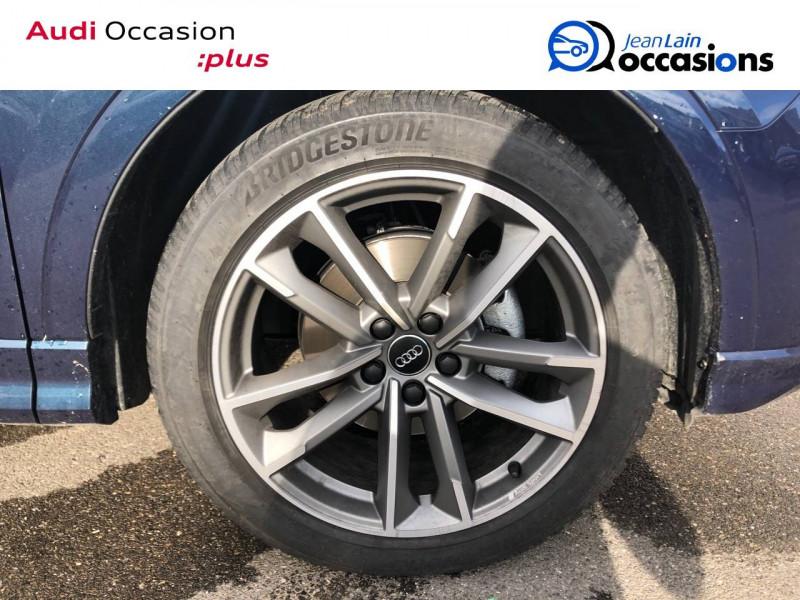 Audi Q3 Q3 35 TDI 150 ch S tronic 7 Design Luxe 5p Bleu occasion à Annemasse - photo n°9