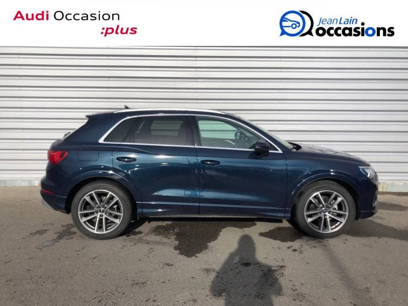Audi Q3 Q3 35 TDI 150 ch S tronic 7 Design Luxe 5p Bleu occasion à Annemasse - photo n°4