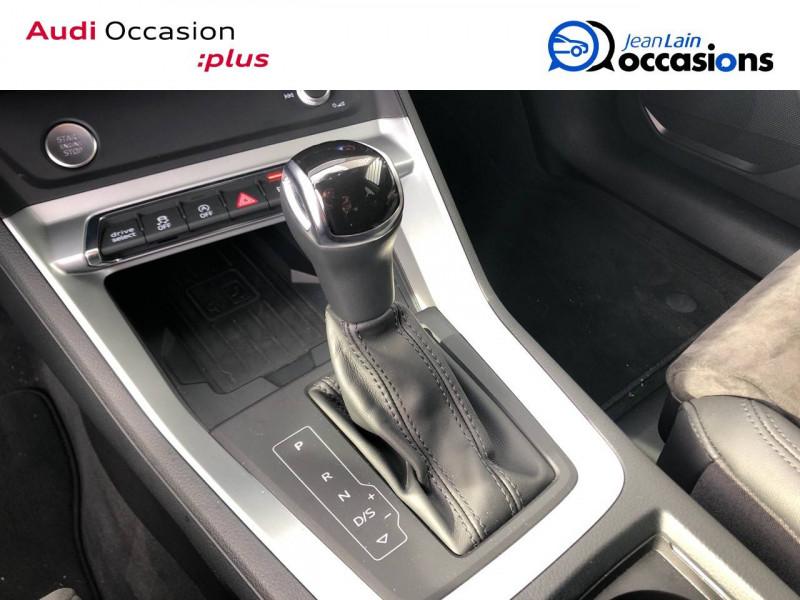 Audi Q3 Q3 35 TDI 150 ch S tronic 7 Design Luxe 5p Bleu occasion à Annemasse - photo n°13