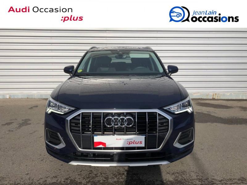 Audi Q3 Q3 35 TDI 150 ch S tronic 7 Design Luxe 5p Bleu occasion à Annemasse - photo n°2