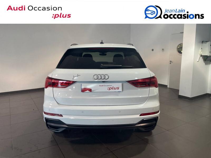 Audi Q3 Q3 35 TDI 150 ch S tronic 7 S line 5p Blanc occasion à Seynod - photo n°6