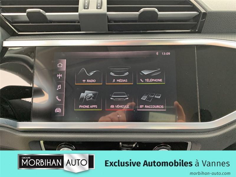 Audi Q3 Q3 35 TDI 150 ch S tronic 7  occasion à Vannes - photo n°9