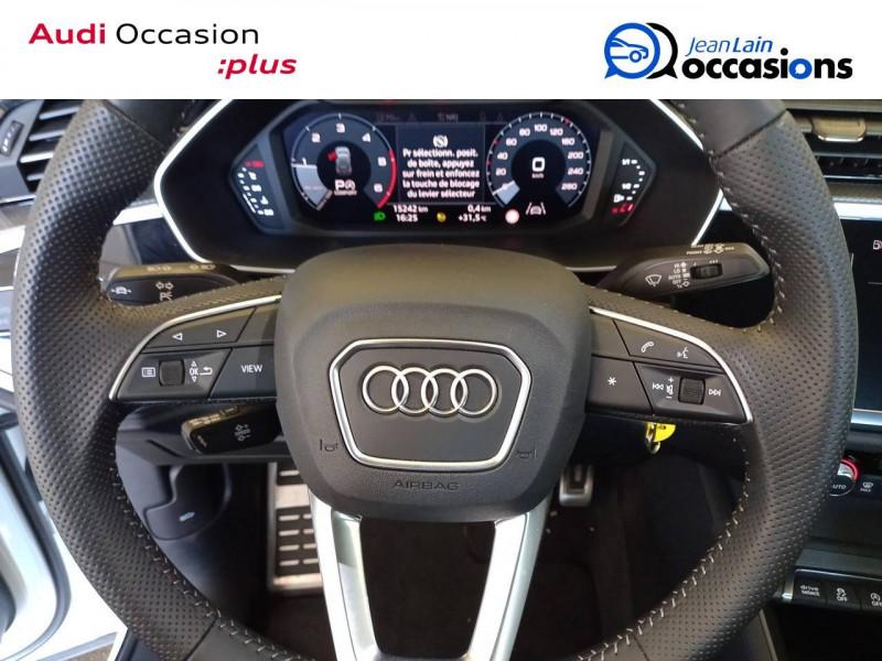Audi Q3 Q3 40 TDI 190 ch S tronic 7 Quattro S line 5p Blanc occasion à Annemasse - photo n°12