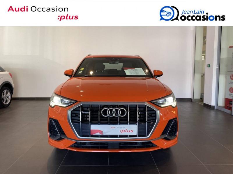 Audi Q3 Q3 40 TDI 190 ch S tronic 7 Quattro S line 5p Orange occasion à Échirolles - photo n°2