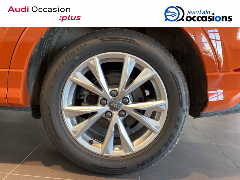 Audi Q3 Q3 40 TDI 190 ch S tronic 7 Quattro S line 5p Orange occasion à Échirolles - photo n°5