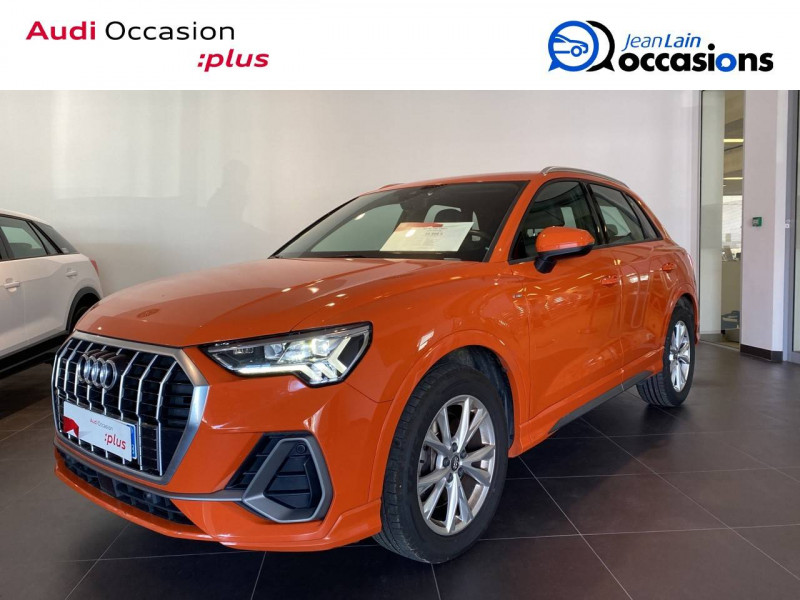 Audi Q3 Q3 40 TDI 190 ch S tronic 7 Quattro S line 5p Orange occasion à Échirolles
