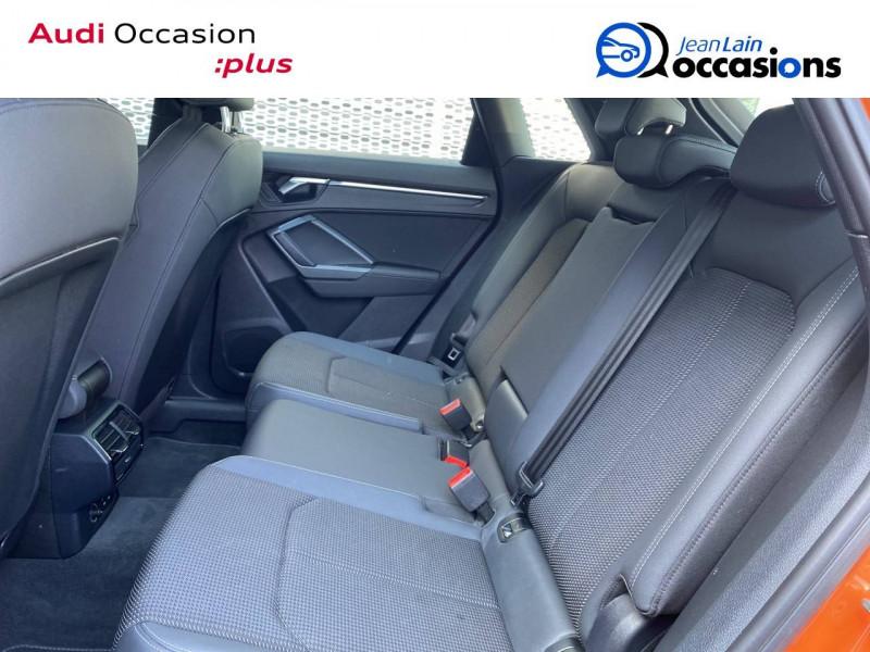 Audi Q3 Q3 40 TDI 190 ch S tronic 7 Quattro S line 5p Orange occasion à Échirolles - photo n°13