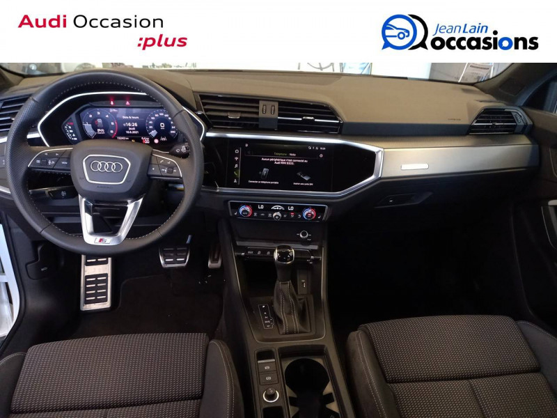 Audi Q3 Q3 40 TDI 190 ch S tronic 7 Quattro S line 5p Blanc occasion à Annemasse - photo n°18
