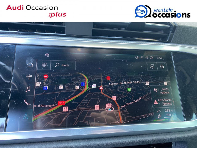 Audi Q3 Q3 40 TDI 190 ch S tronic 7 Quattro S line 5p Orange occasion à Échirolles - photo n°11