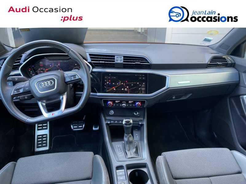 Audi Q3 Q3 40 TDI 190 ch S tronic 7 Quattro S line 5p Orange occasion à Échirolles - photo n°14