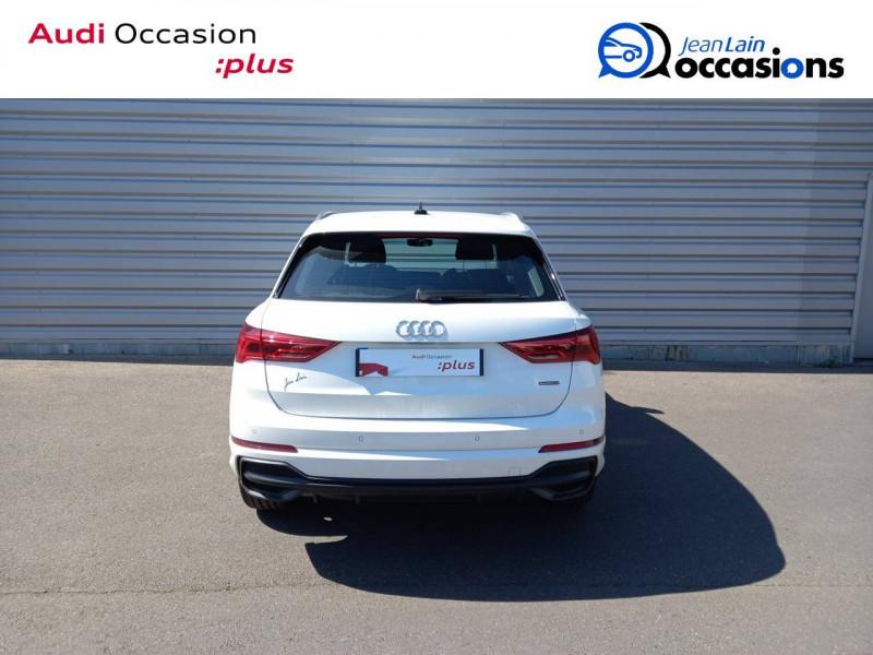 Audi Q3 Q3 40 TDI 190 ch S tronic 7 Quattro S line 5p Blanc occasion à Annemasse - photo n°6