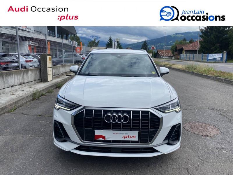 Audi Q3 Q3 40 TDI 190 ch S tronic 7 Quattro S line 5p Blanc occasion à Sallanches - photo n°2