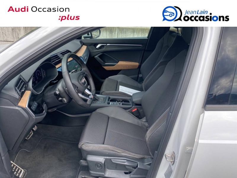 Audi Q3 Q3 40 TDI 190 ch S tronic 7 Quattro S line 5p Blanc occasion à Sallanches - photo n°11