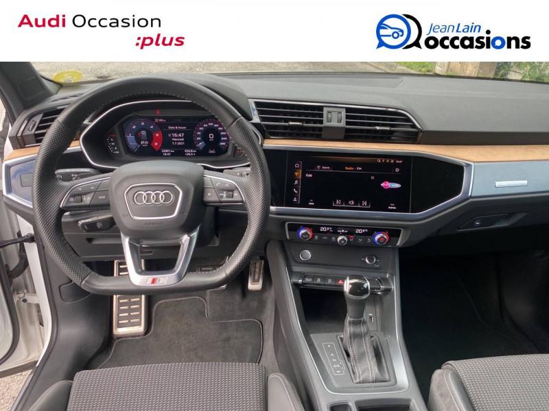 Audi Q3 Q3 40 TDI 190 ch S tronic 7 Quattro S line 5p Blanc occasion à Sallanches - photo n°18