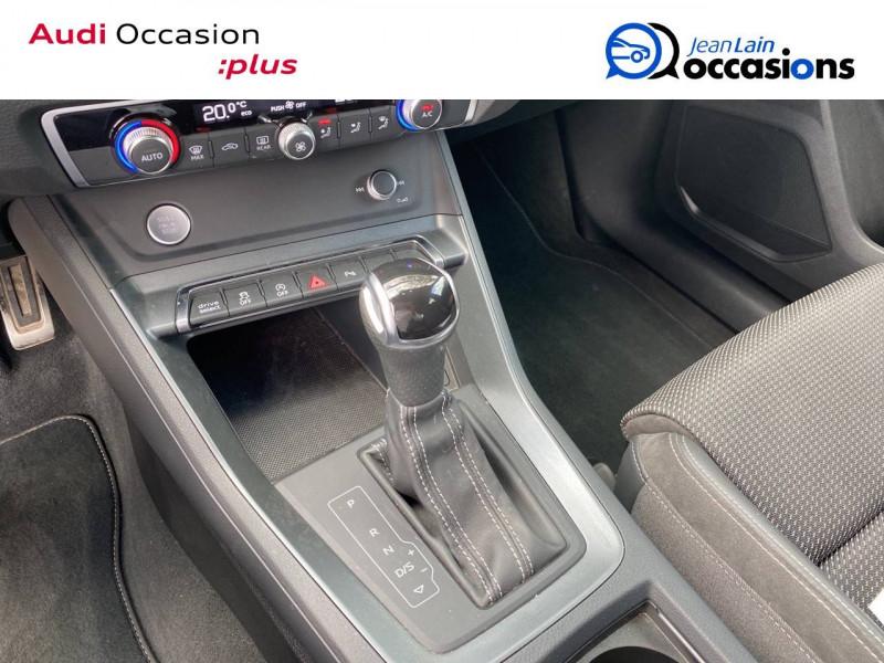 Audi Q3 Q3 40 TDI 190 ch S tronic 7 Quattro S line 5p Blanc occasion à Sallanches - photo n°13