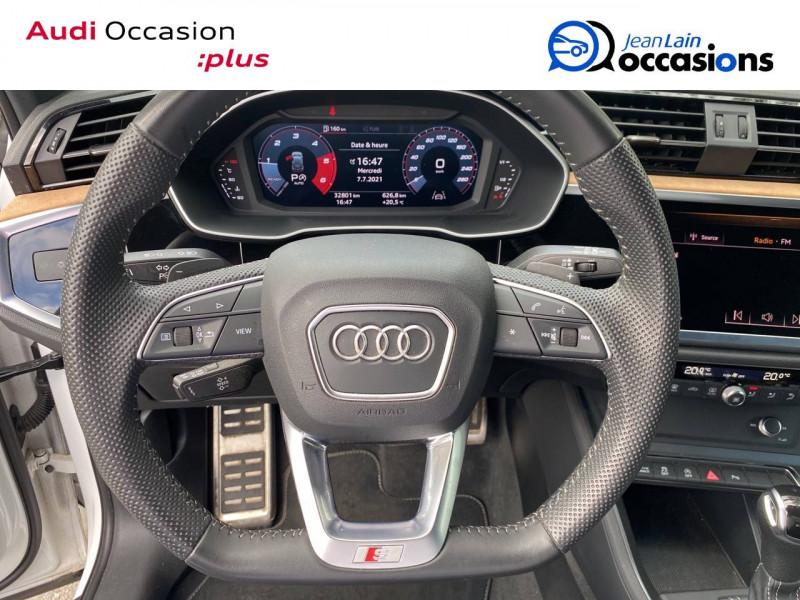 Audi Q3 Q3 40 TDI 190 ch S tronic 7 Quattro S line 5p Blanc occasion à Sallanches - photo n°12