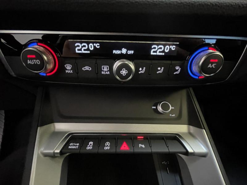 Audi Q3 Sportback 35 TDI 150 CH S-tronic  S Line Noir occasion à Labège - photo n°9