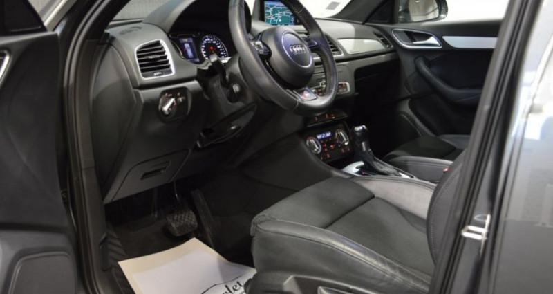 Audi Q3 Superbe 2.0 tdi 177ch quattro stronic SLINE plus 1ere main D Gris occasion à Ollainville - photo n°7