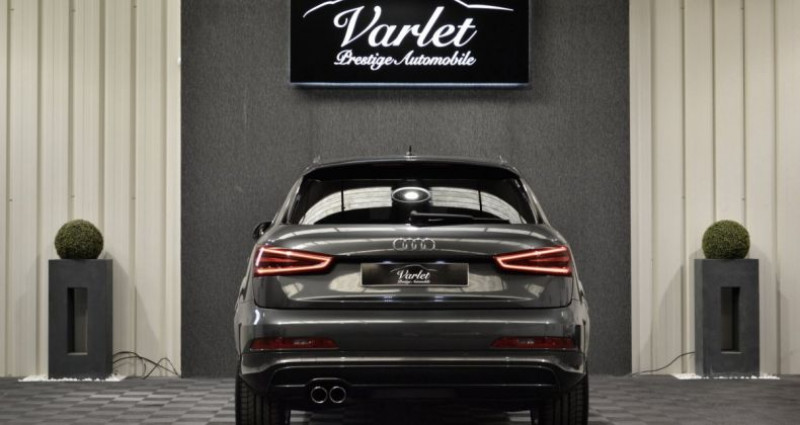 Audi Q3 Superbe 2.0 tdi 177ch quattro stronic SLINE plus 1ere main D Gris occasion à Ollainville - photo n°5