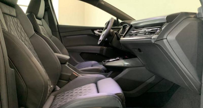 Audi Q4 e-tron 40 204 ch 82 kW S line Noir occasion à Bourgogne - photo n°7