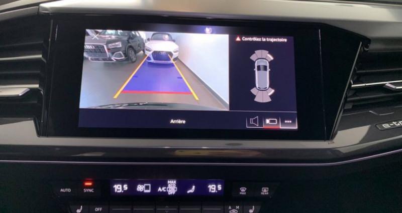 Audi Q4 e-tron 40 204 ch 82 kW S line Noir occasion à Bourgogne - photo n°6