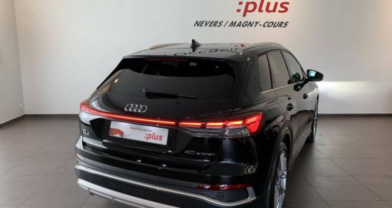 Audi Q4 e-tron 40 204 ch 82 kW S line Noir occasion à Bourgogne - photo n°3