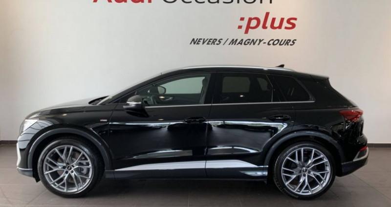 Audi Q4 e-tron 40 204 ch 82 kW S line Noir occasion à Bourgogne - photo n°2