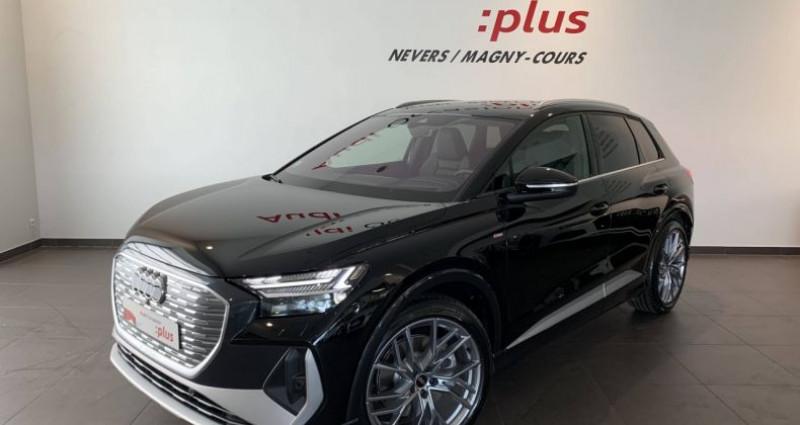 Audi Q4 e-tron 40 204 ch 82 kW S line Noir occasion à Bourgogne