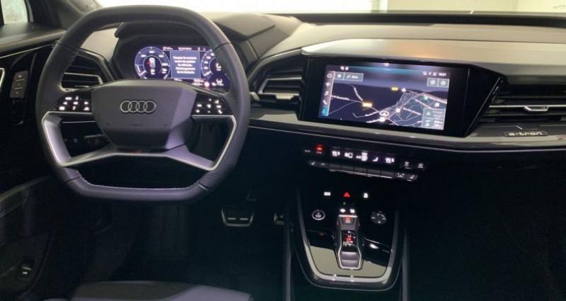 Audi Q4 e-tron 40 204 ch 82 kW S line Noir occasion à Bourgogne - photo n°5
