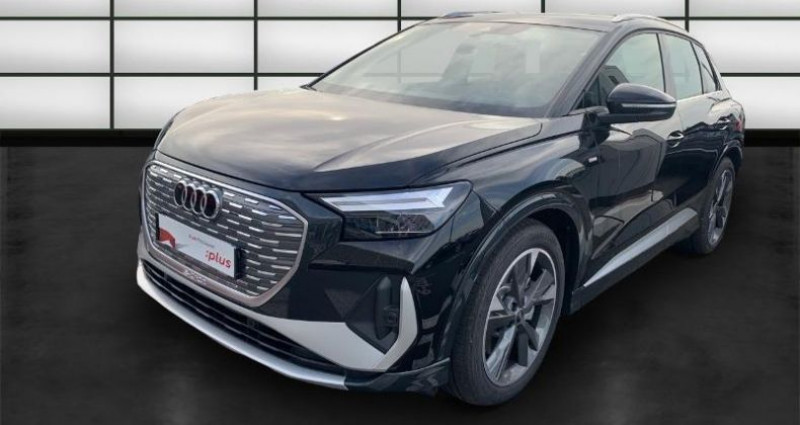 Audi Q4 e-tron 40 204ch S line  occasion à La Rochelle