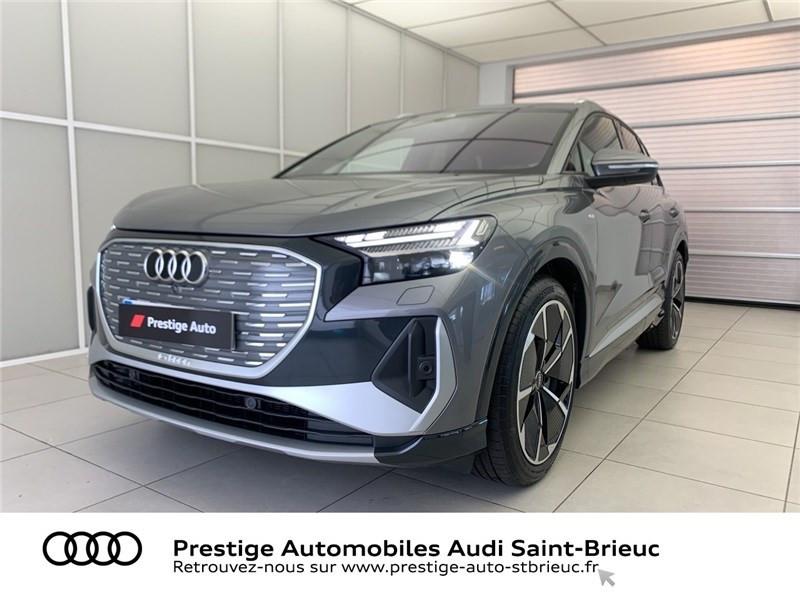 Audi Q4 40 204 CH 82 KW Gris occasion à Saint-Brieuc