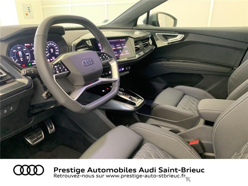Audi Q4 40 204 CH 82 KW Gris occasion à Saint-Brieuc - photo n°6
