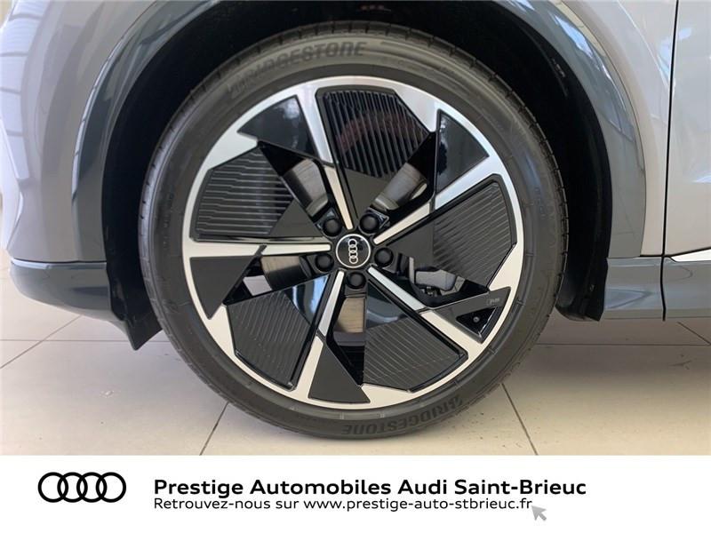 Audi Q4 40 204 CH 82 KW Gris occasion à Saint-Brieuc - photo n°7