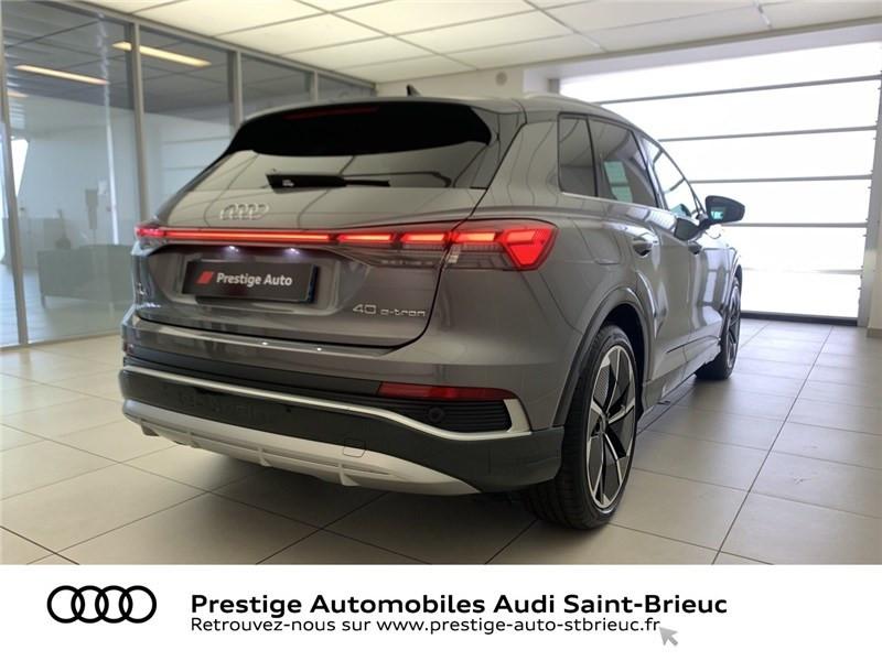 Audi Q4 40 204 CH 82 KW Gris occasion à Saint-Brieuc - photo n°4