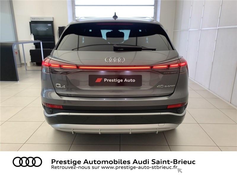 Audi Q4 40 204 CH 82 KW Gris occasion à Saint-Brieuc - photo n°5