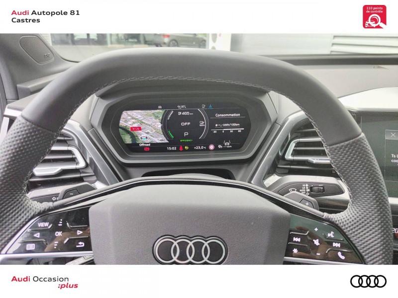 Audi Q4 Q4 e-tron 40 204 ch 82 kW  5p Gris occasion à Castres - photo n°10