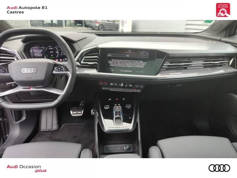 Audi Q4 Q4 e-tron 40 204 ch 82 kW  5p Gris occasion à Castres - photo n°5
