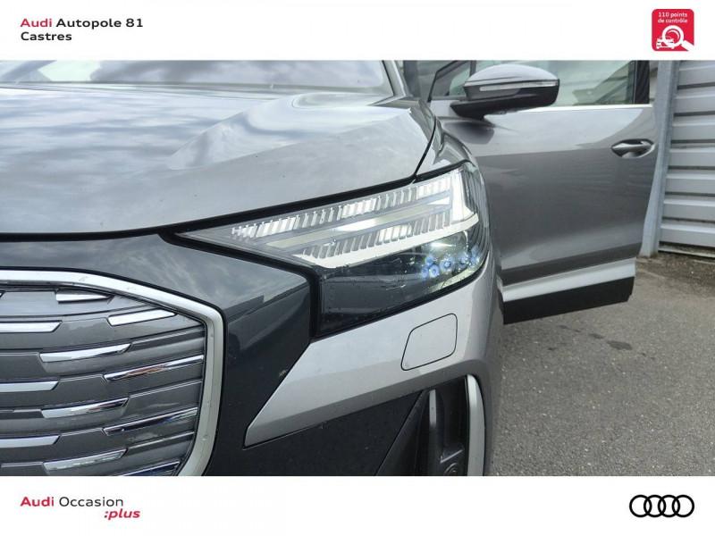 Audi Q4 Q4 e-tron 40 204 ch 82 kW  5p Gris occasion à Castres - photo n°8