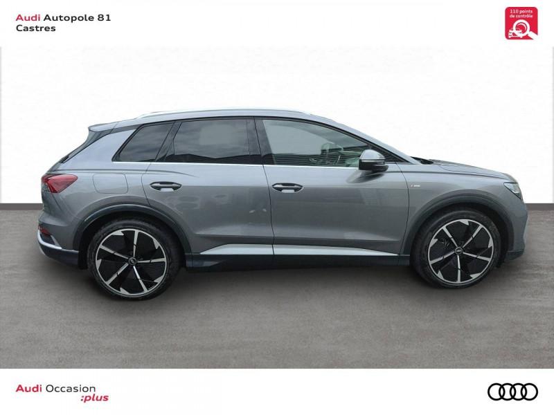 Audi Q4 Q4 e-tron 40 204 ch 82 kW  5p Gris occasion à Castres - photo n°3