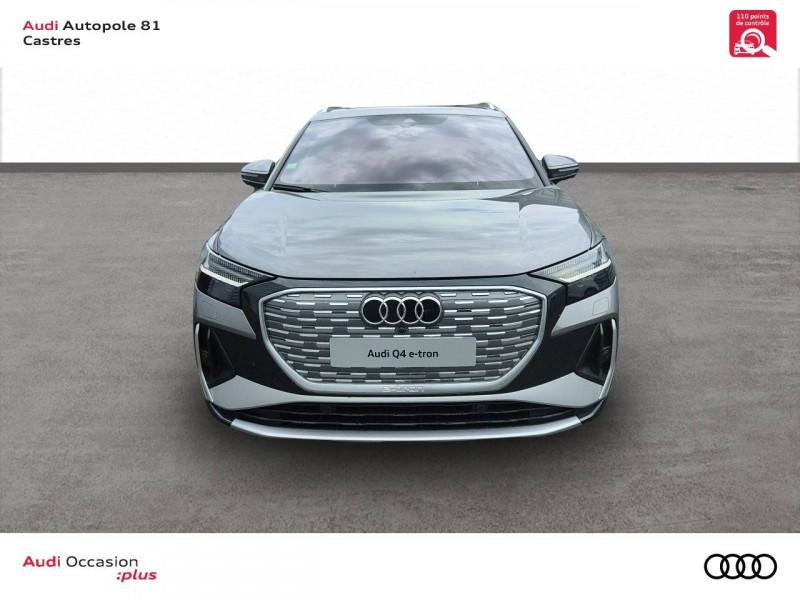 Audi Q4 Q4 e-tron 40 204 ch 82 kW  5p Gris occasion à Castres - photo n°2