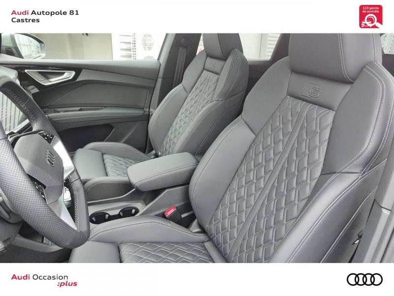 Audi Q4 Q4 e-tron 40 204 ch 82 kW  5p Gris occasion à Castres - photo n°6