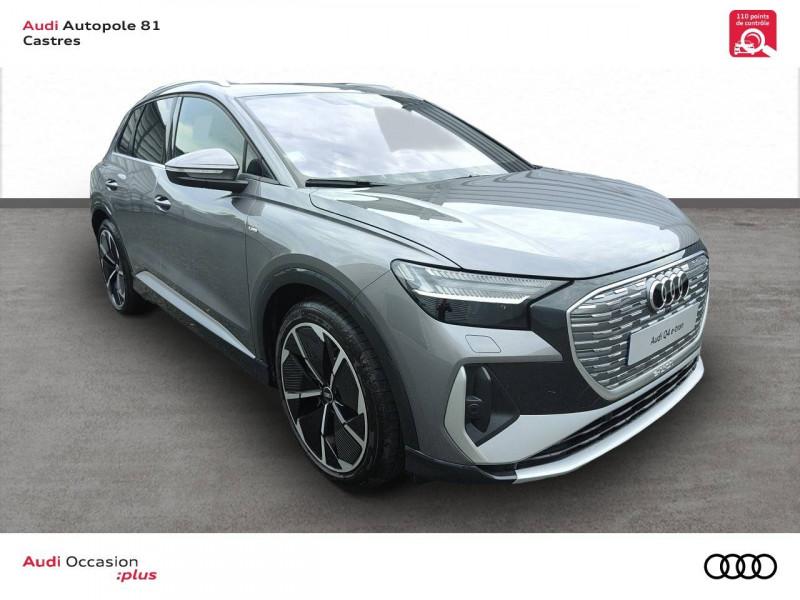 Audi Q4 Q4 e-tron 40 204 ch 82 kW  5p Gris occasion à Castres