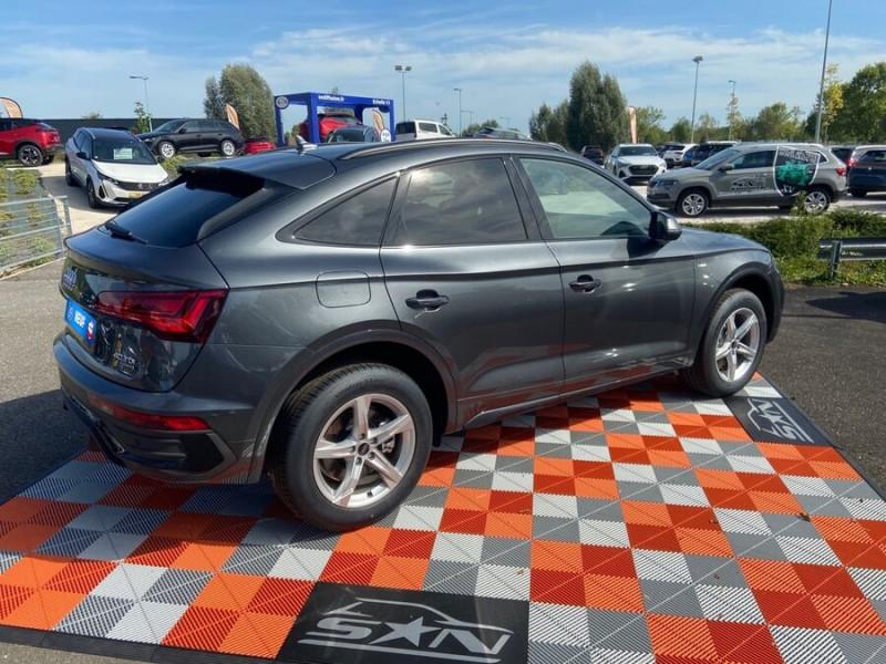 Audi Q5 Sportback 40 TDI 204 BVA QUATTRO S LINE Black Pack Gris occasion à Montauban - photo n°2