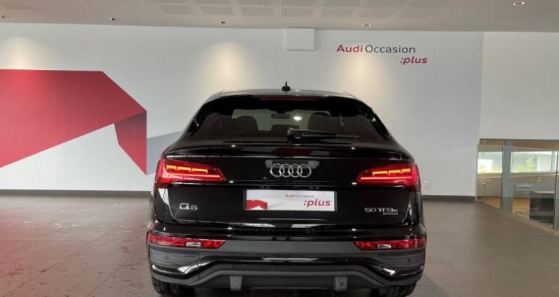 Audi Q5 Sportback 50 TFSIe 299 S tronic 7 Quattro S line Noir occasion à Saint-Ouen - photo n°4