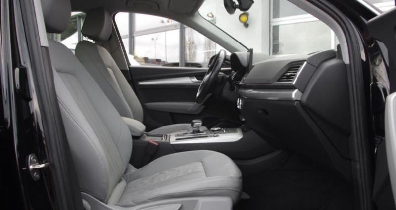 Audi Q5 (2) 2.0 TDI 163 BUSINESS EXECUTIVE QUATTRO S tronic 7 Noir occasion à Chambourcy - photo n°3