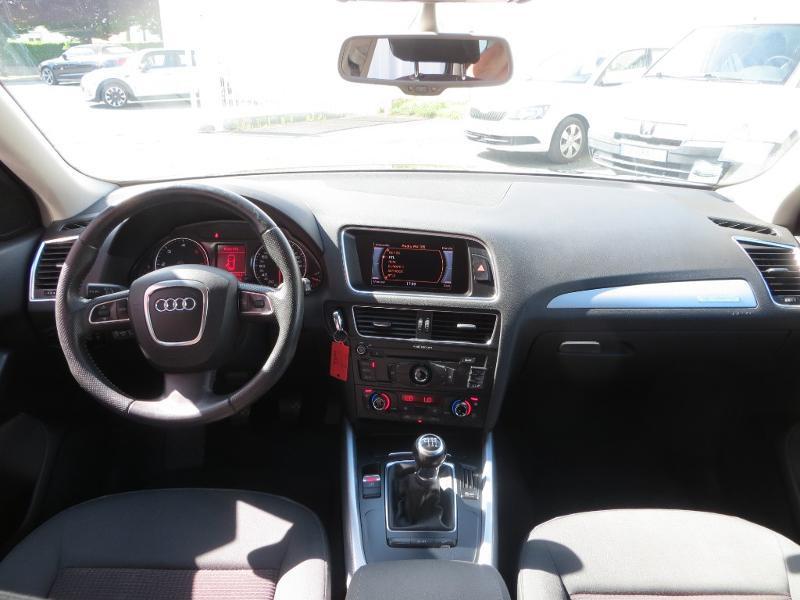Audi Q5 2.0 TDI 143ch FAP Start/Stop Ambiente quattro Gris occasion à La Roche-sur-Yon - photo n°8